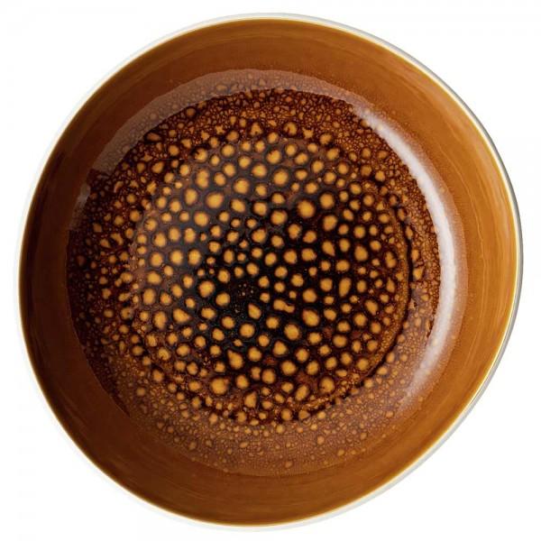 ROSENTHAL Teller tief Junto Amber 28 cm