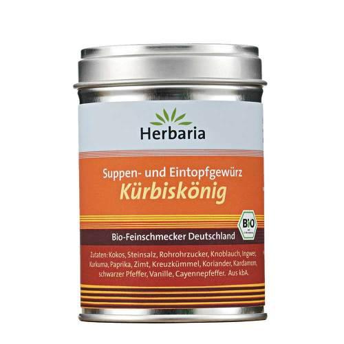 "Suppen- u. Eintopfgewürz ""Kürbiskönig"""
