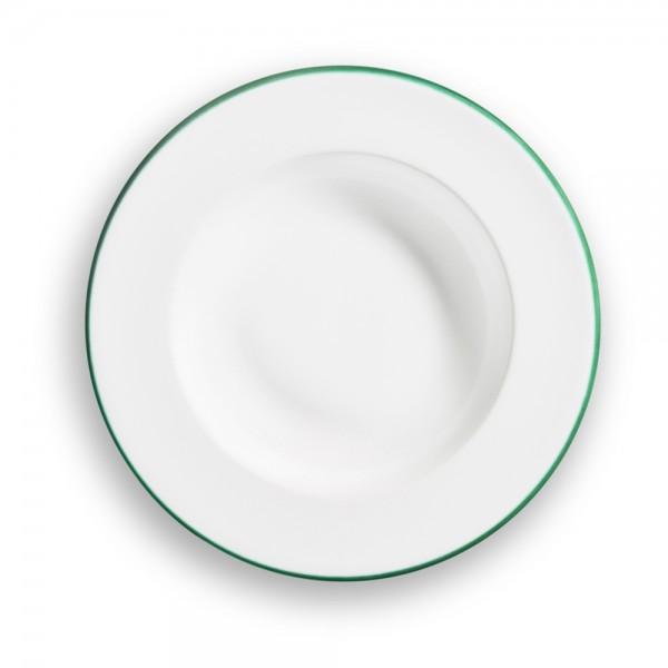"""Suppenteller Gourmet """"Grüner Rand"""""""