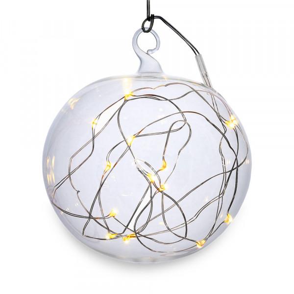 """Christbaumkugel """"Lumix Light Ball"""" M"""