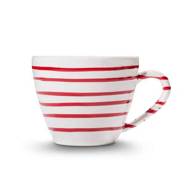 "Kaffeetasse Gourmet ""Rotgeflammt"""