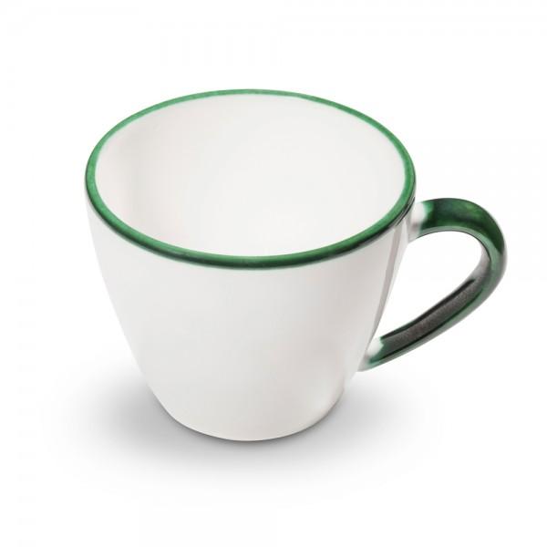 "Kaffeetasse Gourmet 0,2l, ""Grüner Rand"""