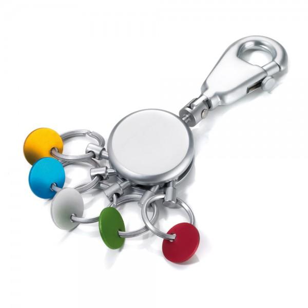 Schlüsselanhänger mehrfarbig