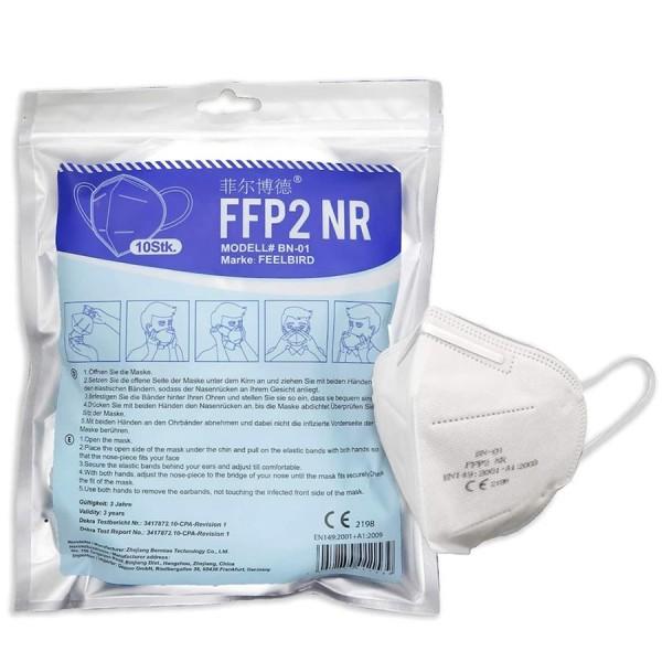 Atemschutzmaske FFP2, 10 Stück