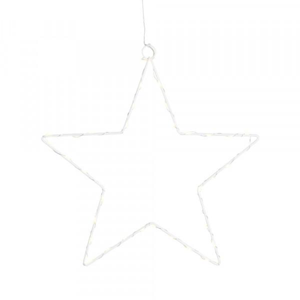 "LED-Leuchtstern ""Liva Star"" weiß"