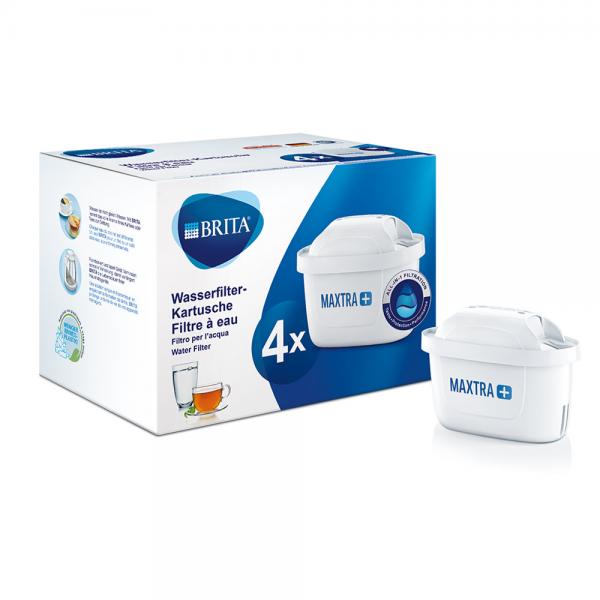 Ersatz-Wasserfilter-Kartusche Maxtra+ 4er Pack