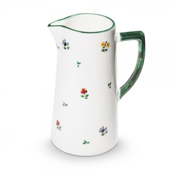 """Wasserkrug """"Streublumen grün"""""""