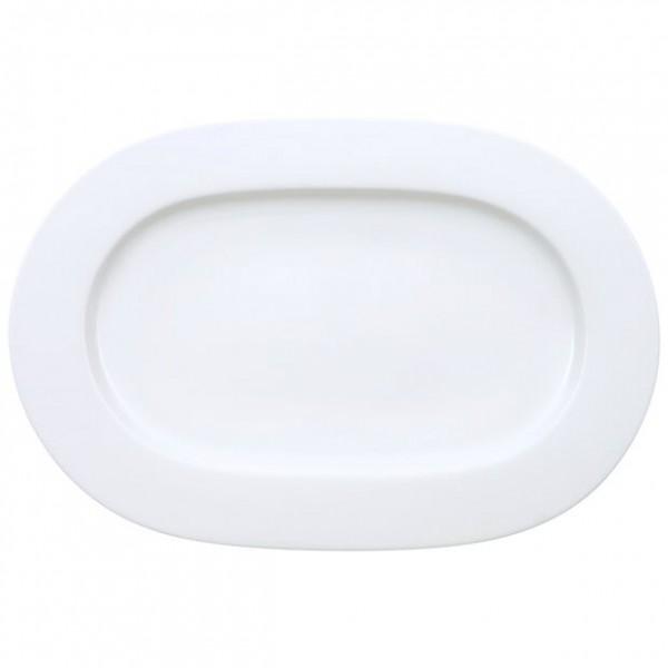 "Platte ""Royal"" weiß, 34 cm"