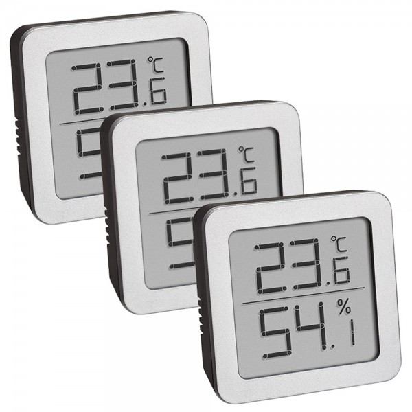 Digitales Thermo-Hygrometer-Set