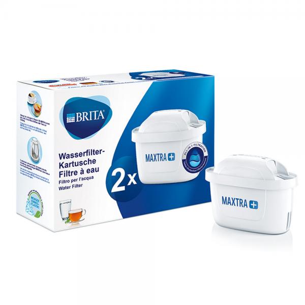 Ersatz-Wasserfilter-Kartusche Maxtra+ 2er Pack