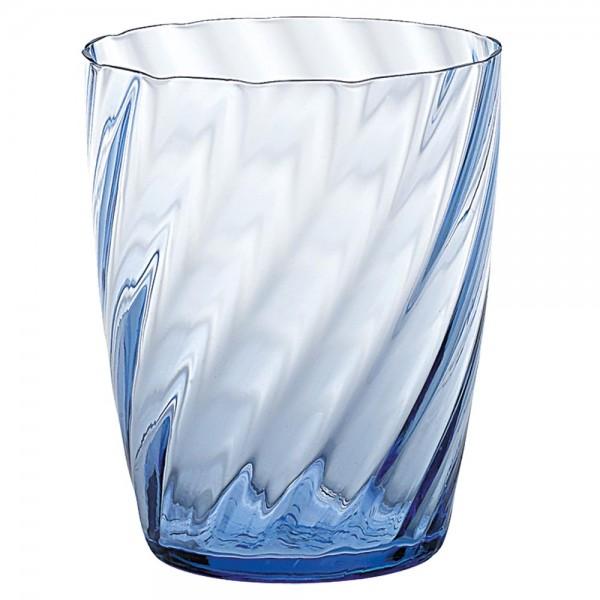 Trinkglas hellblau