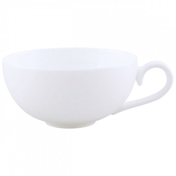 "Teetasse ""Royal"" weiß"