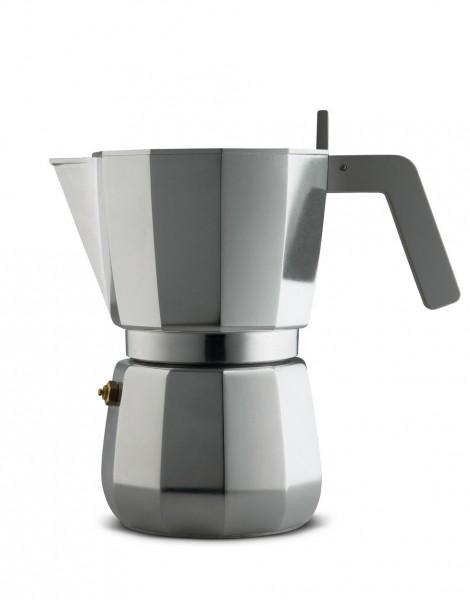 Espressokocher 9T aus Gußaluminium, Pressofilter