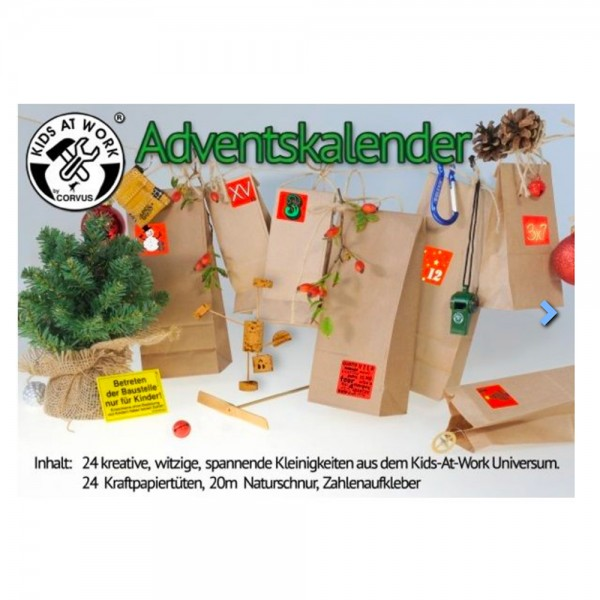 "Kleiner ""Kids at Work"" Adventskalender"