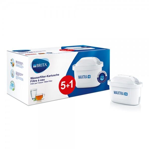 Ersatz-Wasserfilter-Kartusche Maxtra+ 5+1 St.